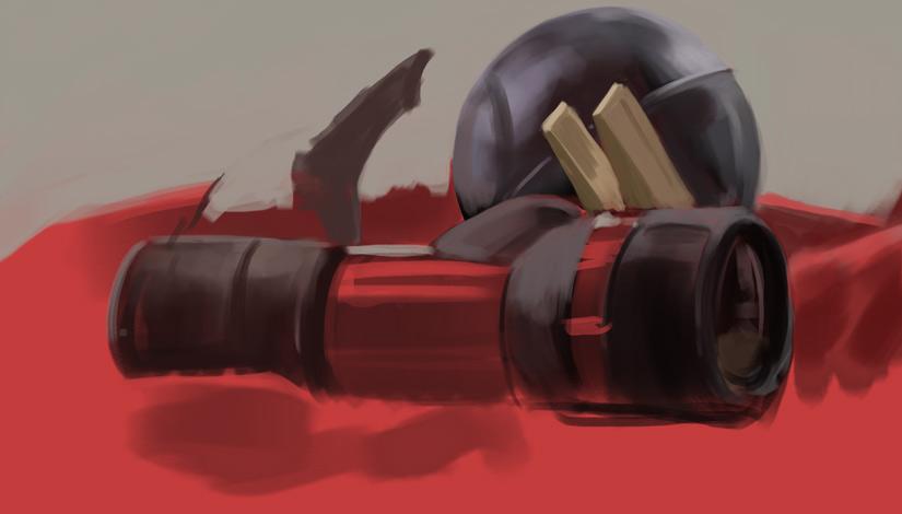 april_still_life_flashlight_shark_clothespins_red_wip02